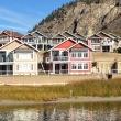Lakeside homes