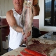 Salmon caught on Osoyoos Lake