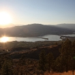 Sunset in Osoyoos lake