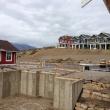 160 Foundation - looking towards hillside homes